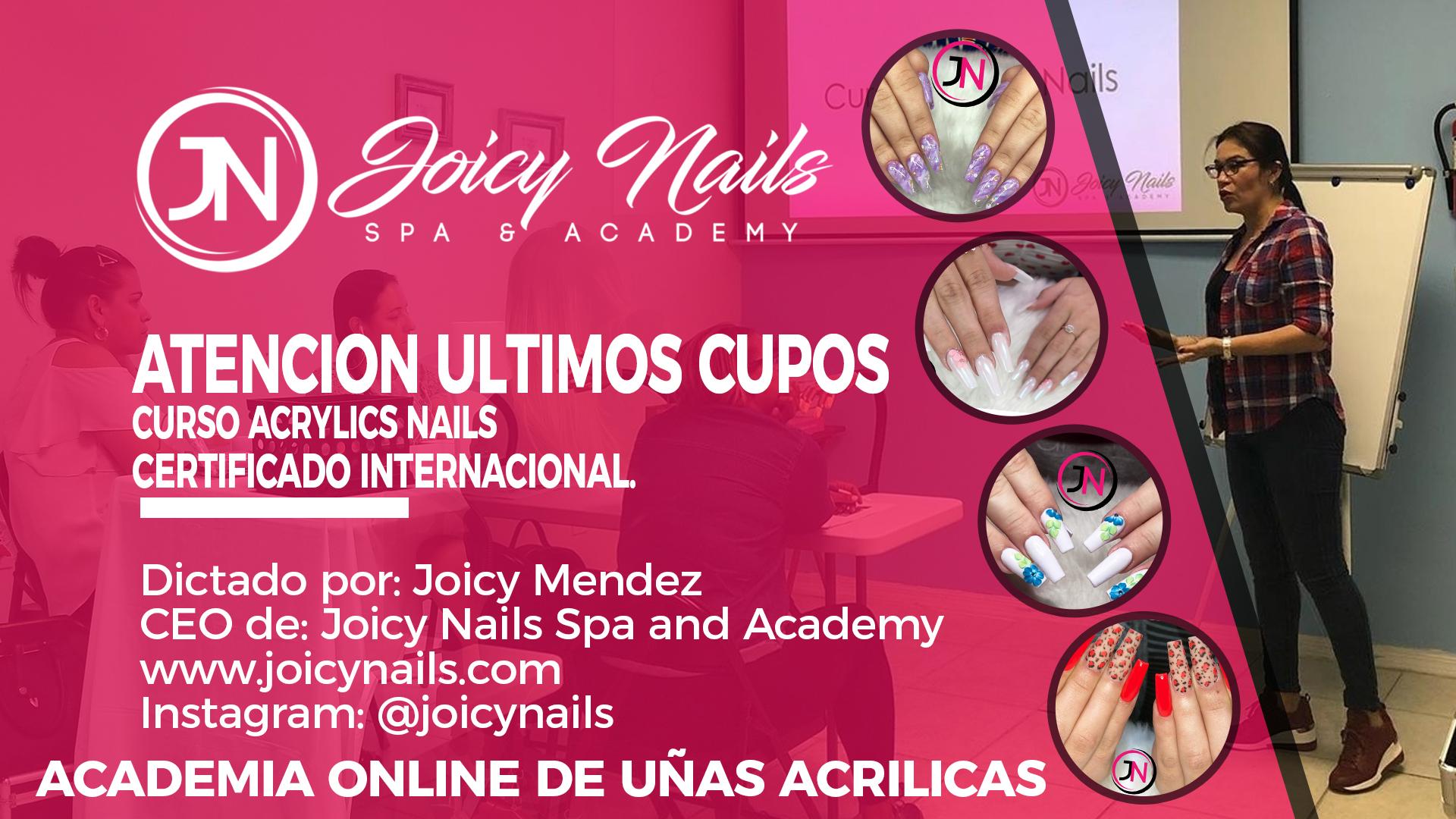 CURSO COMPLETO ACRYLICS NAILS